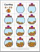 Autumn Math Number Matching - Candy Corn