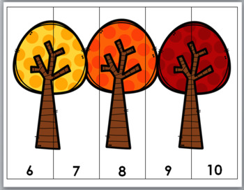 Autumn Math - Number Puzzles 1-10