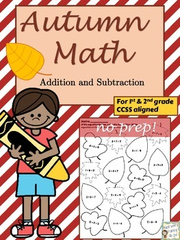 Autumn Math Packet (Primary)