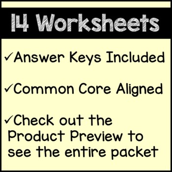 Autumn Math Worksheets Fall 5th Grade Common Core