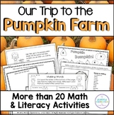 Autumn Math and Literacy at the Pumpkin Farm