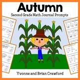 Autumn Math Journal Prompts (2nd grade) Fall