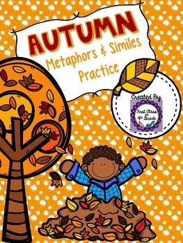 Autumn Metaphors & Similes Practice