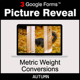 Autumn: Metric Weight Conversions - Google Forms Math Game