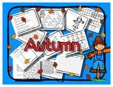 Autumn - Micro Theme Activity Book / Craftivity - Preschoo