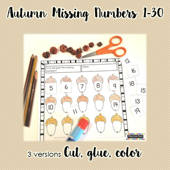 Autumn Counting 1-30