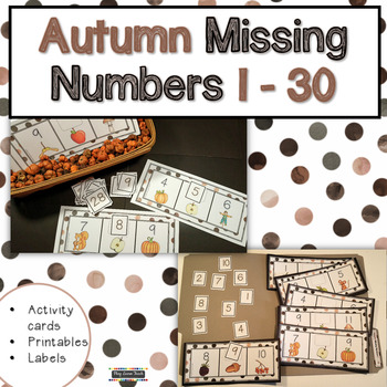 Autumn Missing Numbers 1-30