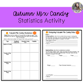 Autumn Mix Candy Statistics Activity