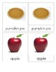 Autumn - Montessori Reading Classification 3-part Cards - Step 3