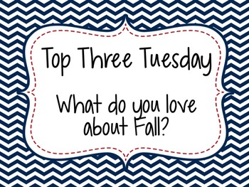 Autumn Morning Messages {Community Building Prompts}