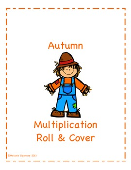 Autumn Multiplication Roll and Cover