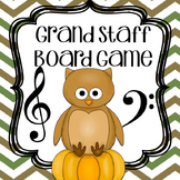 Fall Music Game: Grand Staff