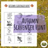 Autumn Nature Scavenger Hunt