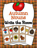 Autumn Nouns Write The Room Activity