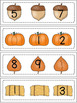 Autumn Numbers 0-10 Activites/Centers/Games