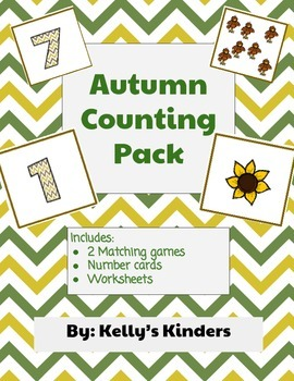 Autumn Number Match Pack