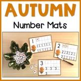 Autumn Number Mats | 1-10