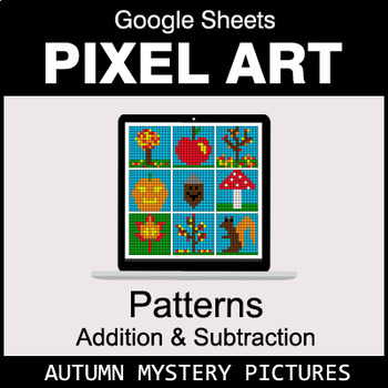 Autumn - Number Patterns: Addition & Subtraction - Google Sheets