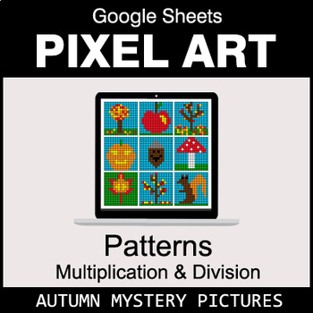 Autumn - Number Patterns: Multiplication & Division - Google Sheets