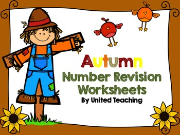 Autumn Number Revision Worksheets