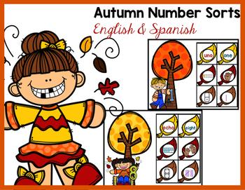 Autumn Number Sorts