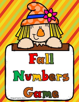 Autumn Numbers 1-10 Game