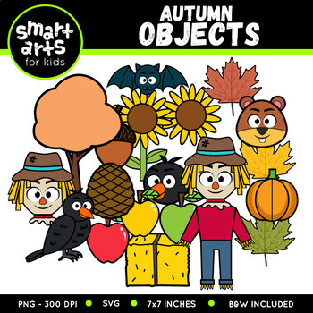 Autumn Objects Clip Art