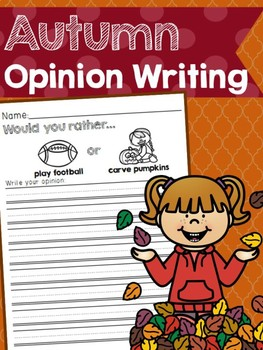 Autumn Opinion Writing