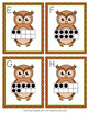 Autumn Owl Ten Frames Count the Room