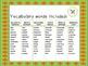 Autumn Owls Vocabulary Game