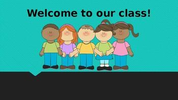 1st-5th grade editable student progress presentation