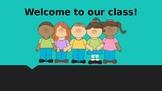 1st-5th grade Parent-teacher conference presentation