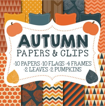 Autumn Papers & Clipart