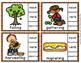 Autumn Parts of Speech Clip Cards