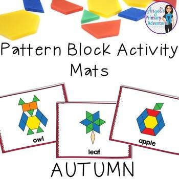 Autumn Pattern Block Mats