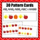 Autumn/Fall Pattern Cards
