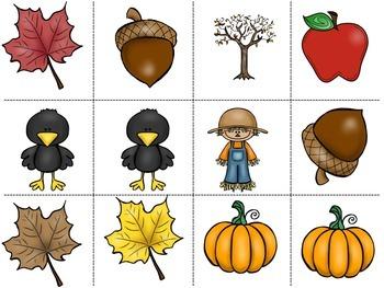 Autumn Pattern Math Center