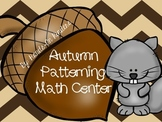 Autumn Pattern Math Center