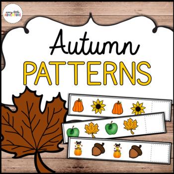Autumn Pattern Strips