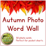 Autumn Photo Word Wall