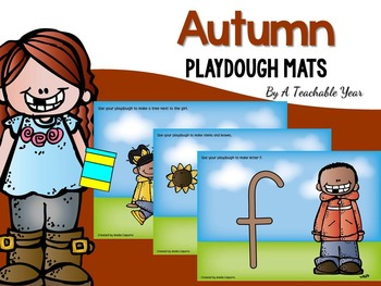 Autumn Playdough Mats