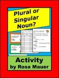 Plural and Singular Nouns L.2.1B