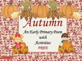 Autumn Poem and Activities for Early Primary and ESL/ELL Newcomers