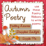 Autumn Poetry: 66 Poetry Prompt Ribbons