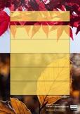 Autumn Poetry - Writing Graphic Organiser
