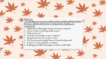 Autumn PowerPoint Backgrounds