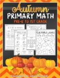 Autumn Primary Math (Pre-K to 1st Grade)