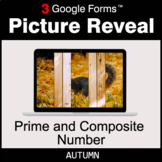Autumn: Prime and Composite Number - Google Forms Math Gam