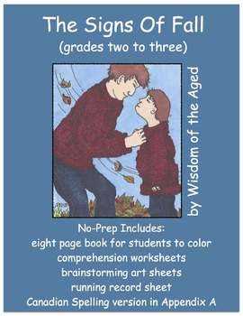 Fall - No Prep Printable Book with Activities