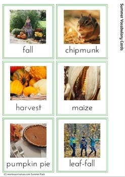Fall Printables for Toddlers and Young Preschoolers